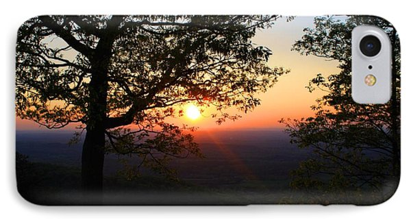 IPhone Case featuring the photograph Chilhowee Sunset by Kathryn Meyer