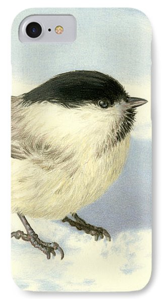 Chilly Chickadee IPhone 7 Case by Sarah Batalka
