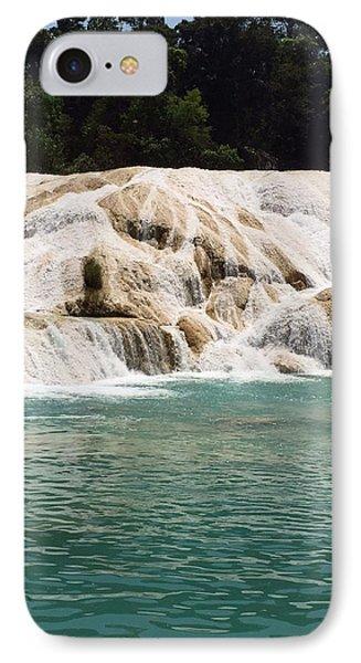 Chilon Waterfall. IPhone Case by Shlomo Zangilevitch