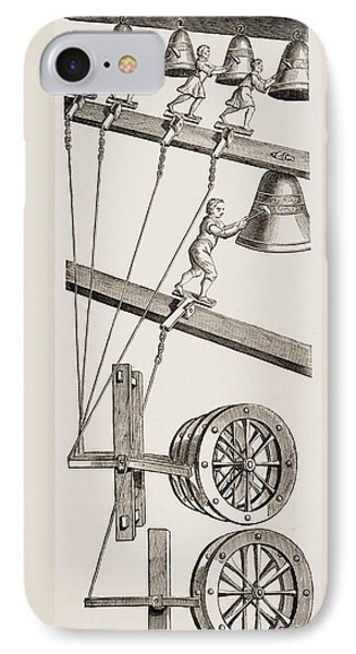 Chimes Of The Clock Of St. Lambert In IPhone Case