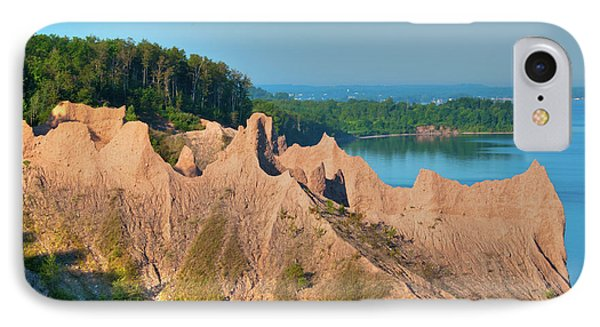 Chimney Bluffs 1750 IPhone Case
