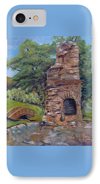Chimney Love -cartecay Vineyards - Ellijay Ga IPhone Case