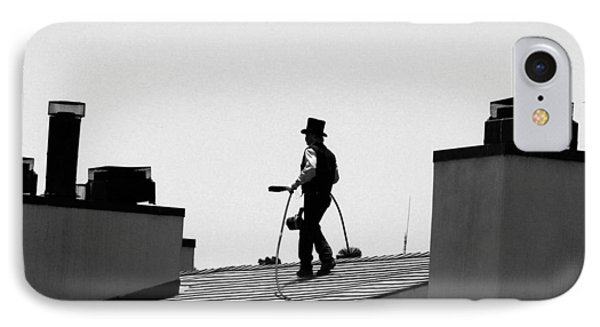 IPhone Case featuring the photograph Chimney Sweep by Helen Haw