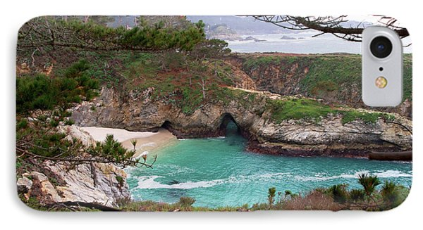 China Cove At Point Lobos Phone Case by Charlene Mitchell