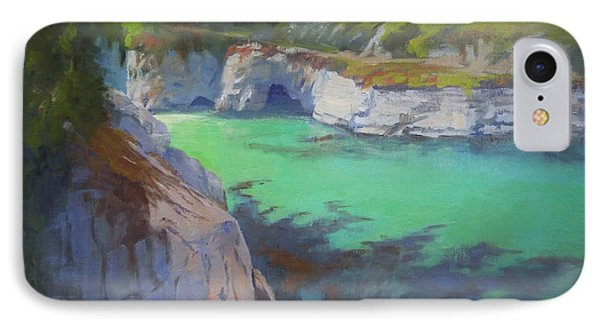 China Cove IPhone Case by Sharon Weaver