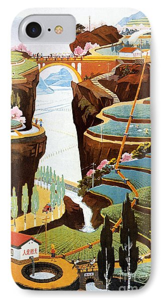 China: Poster, 1975 Phone Case by Granger