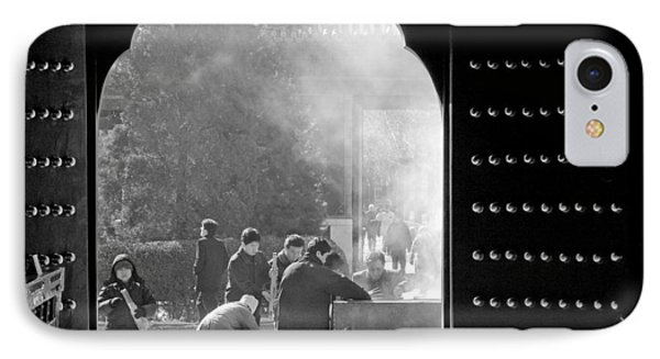 China Temple IPhone Case by Sebastian Musial