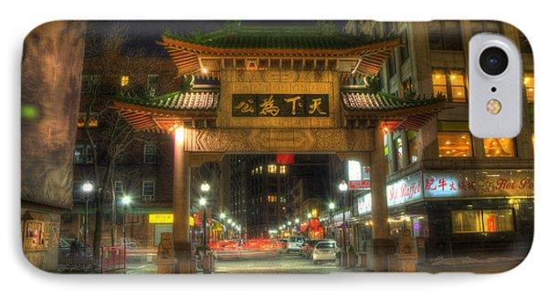 Chinatown Gate - Boston  IPhone Case by Joann Vitali