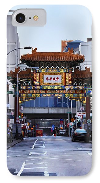 Chinatown - Philadelphia Phone Case by Bill Cannon