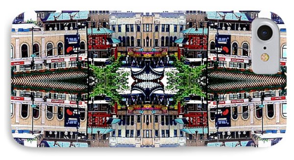 Chinatown Chicago 2 Phone Case by Marianne Dow