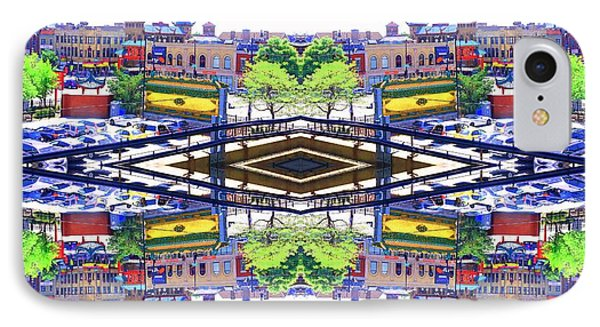 Chinatown Chicago 3 Phone Case by Marianne Dow