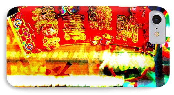 IPhone Case featuring the photograph Chinatown Window Reflection 4 by Marianne Dow