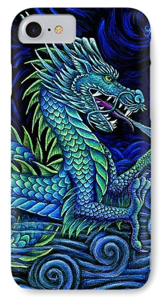 Chinese Azure Dragon Phone Case by Rebecca Wang