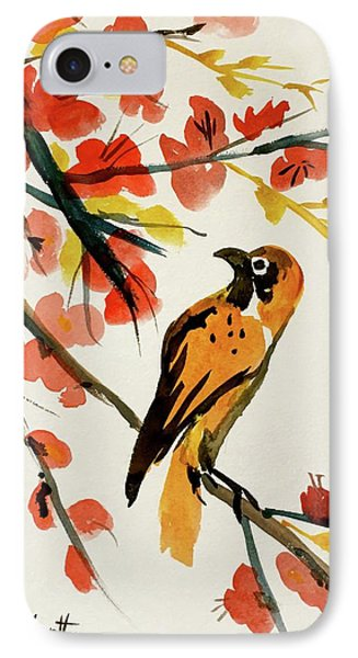 Chinese Bird With Blossoms IPhone Case