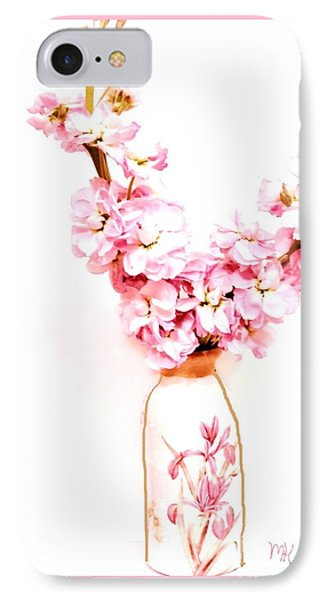 IPhone Case featuring the digital art Chinese Bouquet by Marsha Heiken