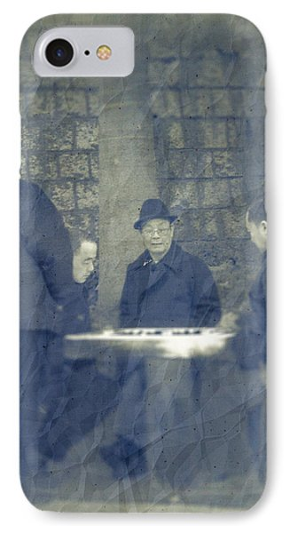 Chinese Chess Players IPhone Case by Loriental Photography