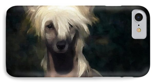 Chinese Crested Dog IPhone Case