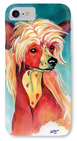 Chinese Crested Sunset IPhone Case