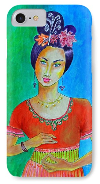 Chinese Dancer -- The Original -- Portrait Of Asian Woman IPhone Case