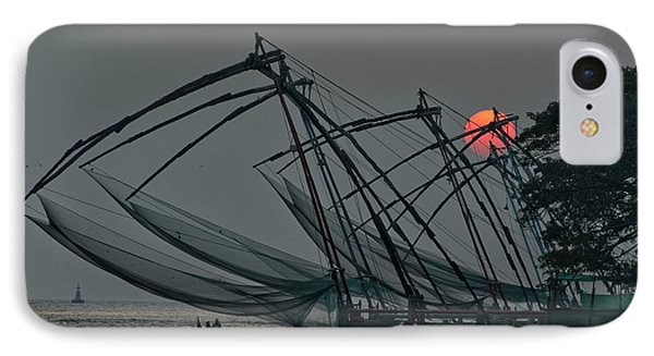 Chinese Fishing Nets, Cochin IPhone Case by Marion Galt