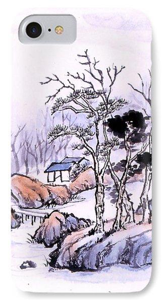 Chinese Landscape IPhone Case by Yolanda Koh