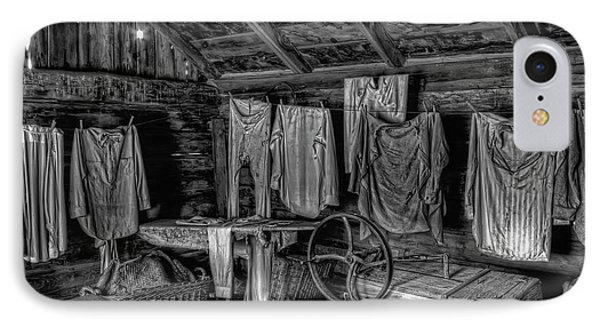Chinese Laundry In Montana Territory Phone Case by Daniel Hagerman