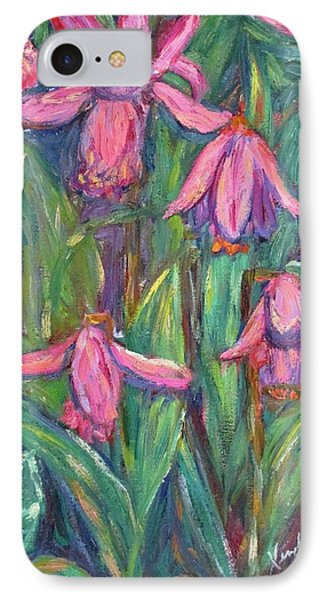 IPhone Case featuring the painting Chinese Orchids by Kendall Kessler