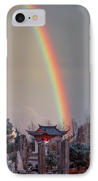 Chinese Reconciliation Park Rainbow IPhone Case