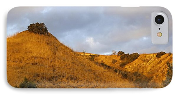 IPhone Case featuring the photograph Chino Hills And Clouds by Viktor Savchenko