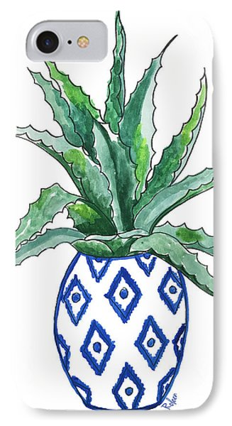 Chinoiserie Cactus IPhone Case