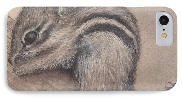 Chipmunk, Tn Wildlife Series IPhone Case by Annamarie Sidella-Felts