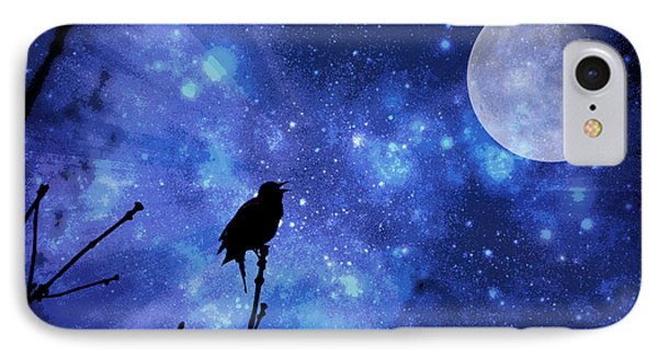 Chirping At The Moon  IPhone Case