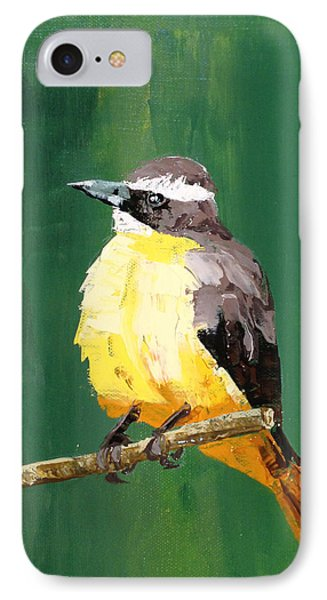 Chirping Charlie IPhone Case by Nathan Rhoads
