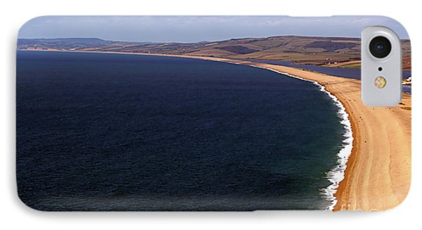 IPhone Case featuring the photograph Chesill Beach Dorset by Baggieoldboy