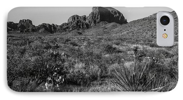 Chisos Mountains IPhone Case