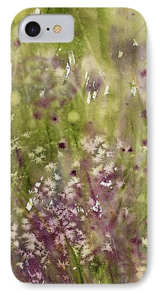 Chive Garden IPhone Case by Judith Levins