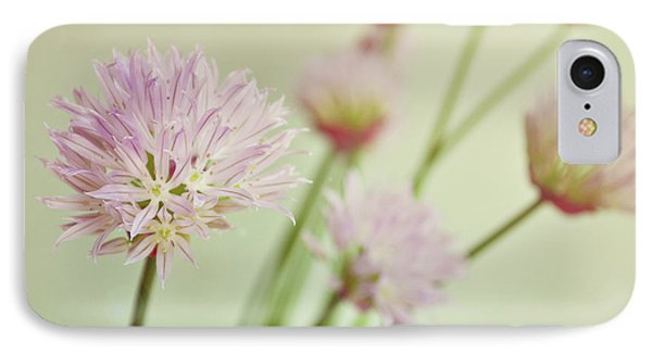 Chives In Flower IPhone Case
