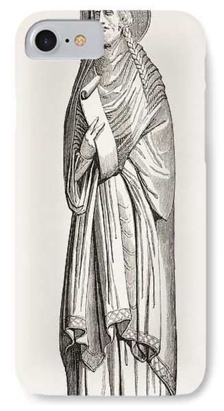 Chlothar I, Or Clotaire, Born C. 497 IPhone Case by Vintage Design Pics