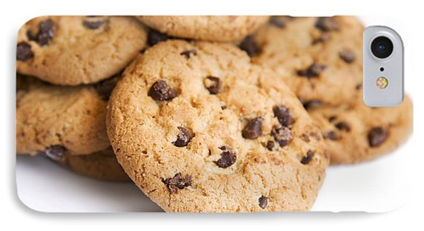Choc Chip Cookie Mound IPhone Case by Jorgo Photography - Wall Art Gallery