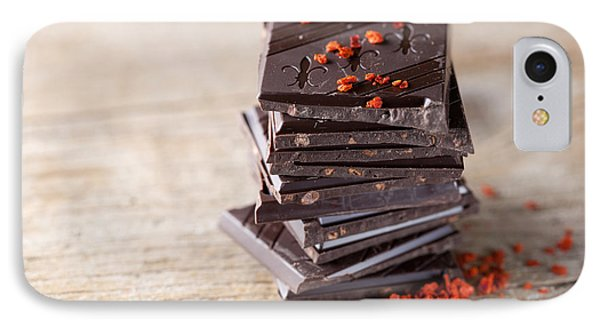 Chocolate And Chili IPhone Case by Nailia Schwarz