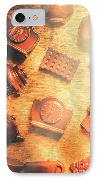 Chocolate Cafe Background IPhone Case by Jorgo Photography - Wall Art Gallery