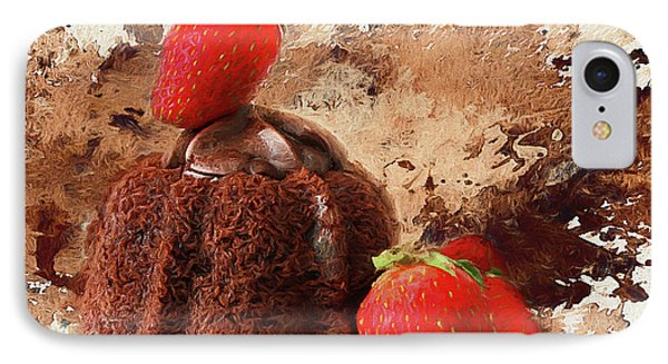 IPhone Case featuring the photograph Chocolate Explosion by Darren Fisher
