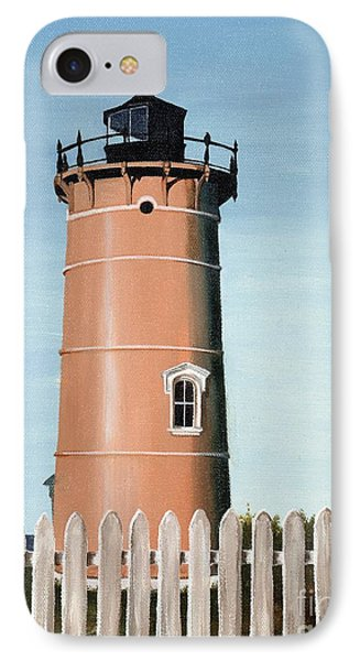 Chocolate Lighthouse Phone Case by Mary Rogers