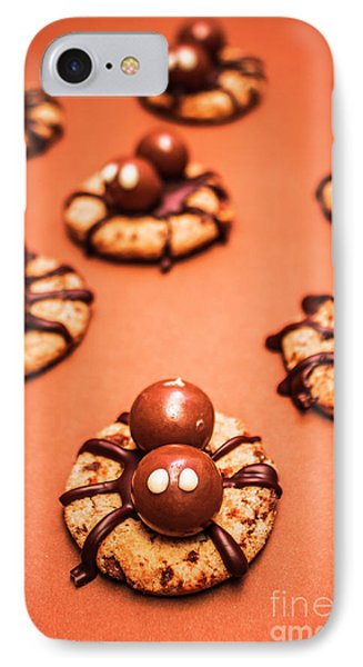 Chocolate Peanut Butter Spider Cookies IPhone 7 Case