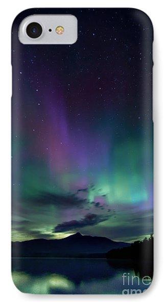 Chocorua Aurora IPhone Case by Scott Thorp