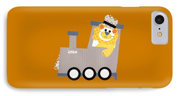 Choo Choo T-shirt IPhone Case by Herb Strobino