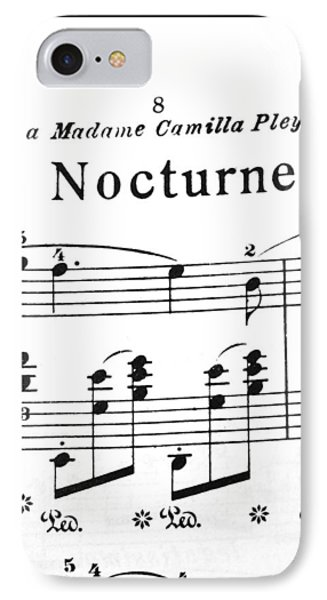 Chopin Nocturne Part 2 IPhone Case