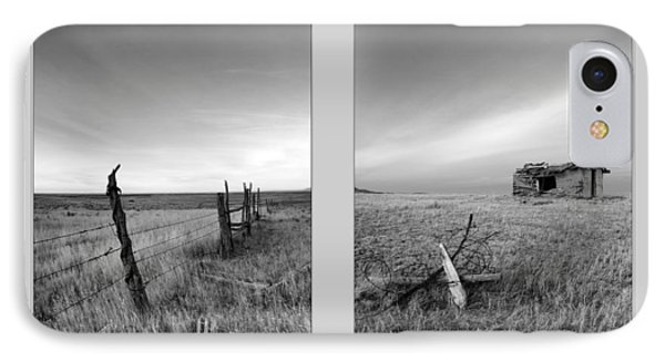 Choteau Diptych IPhone Case by Leland D Howard