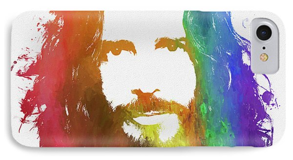 Chris Cornell Color Tribute IPhone Case