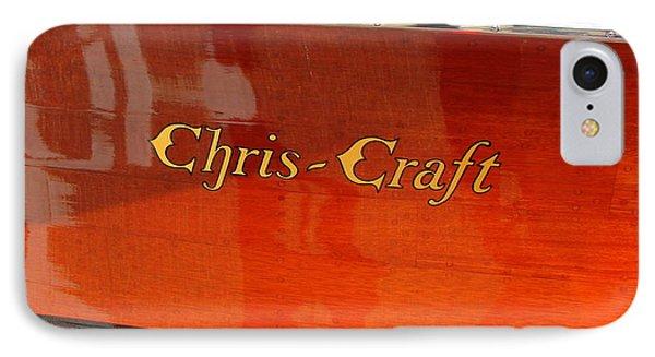 Chris Craft Logo Phone Case by Michelle Calkins